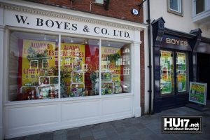 Boyes W & Co Ltd | 20 Wednesday Market, Beverley, East Riding of Yorkshire HU17 0DJ | 01482 886004