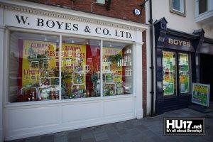 Boyes W & Co Ltd | 20 Wednesday Market, Beverley, East Riding of Yorkshire HU17 0DJ | 01482 886004