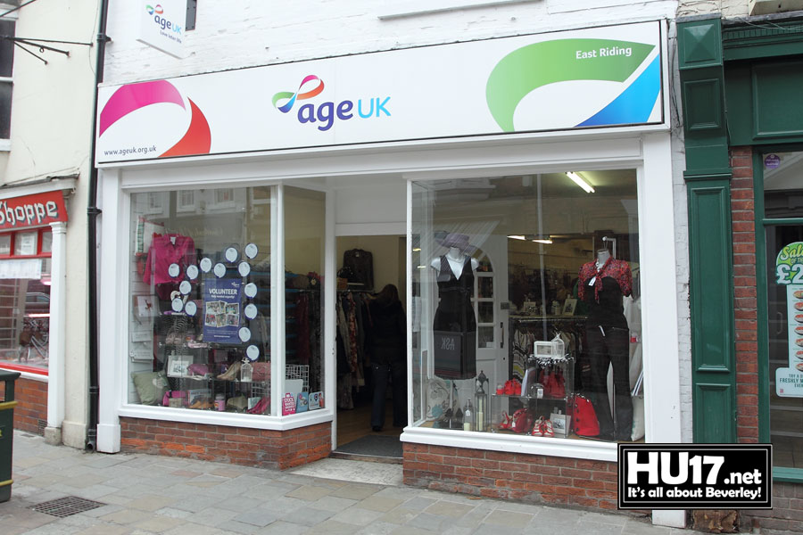 Age UK Charity Shop | 22 Wednesday Market, Beverley, East Riding of Yorkshire HU17 0DJ | 01482 887727