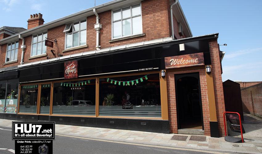 Chamas Rodizio Bar & Grill 9-10 Wednesday Market, Beverley HU17 0DG 01482 867897